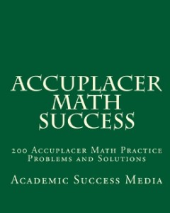 AccuplacerMathSuccess